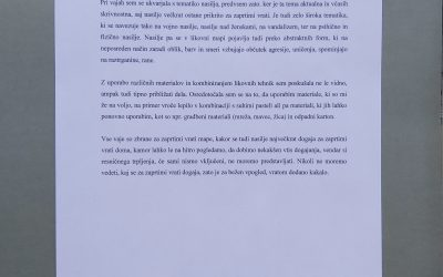 2_Tematsko izhodišče, Katja Čepe, Forma in kontekst II, doc. dr. Mojca Puncer