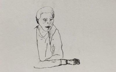 enostavna litografija Grafika II, mentorica red. prof. Petra Varl