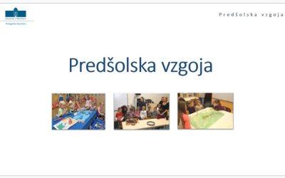 Predstavitev študijskega programa Predšolska vzgoja