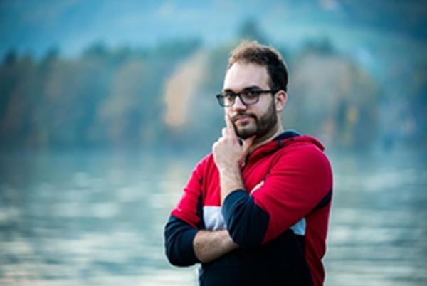 Patrik Kociper, študent likovne pedagogike
